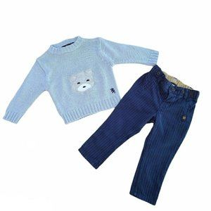 4/$30 Baby Boy Sweater & Pants Set 6 - 9 months